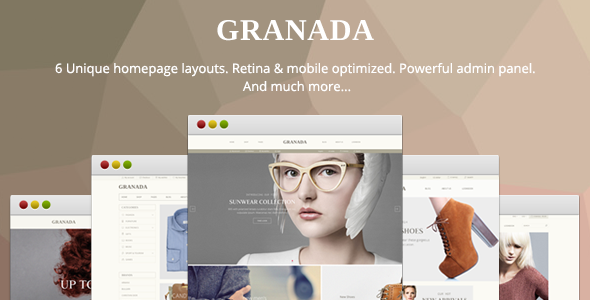 ThemeForest Granada Ultimate Responsive Magento Theme 10472294
