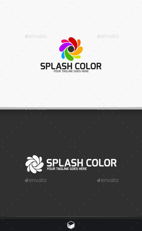 GraphicRiver Splash Color Logo 10472309