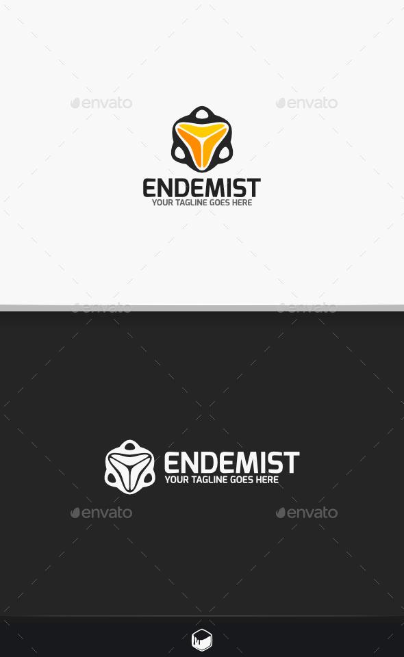 GraphicRiver Tracker Endemist Logo 10472317