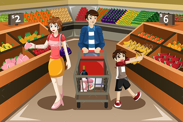 GraphicRiver Family Shopping 10472514