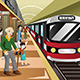 Train Station  - GraphicRiver Item for Sale