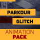 Parkour Promo Movie Glitch Animation Pack - VideoHive Item for Sale