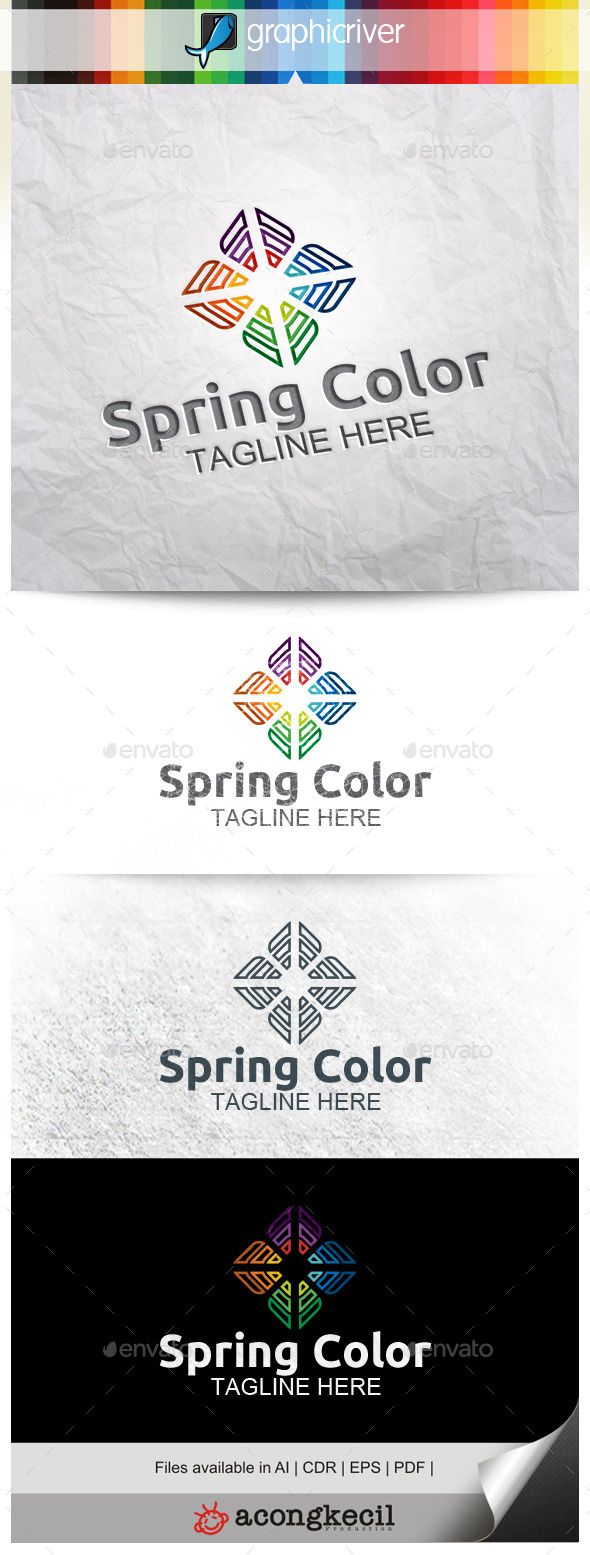 GraphicRiver Spring Color V.4 10472539
