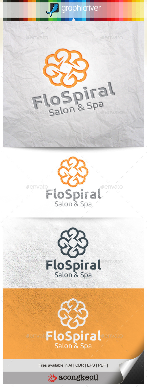 GraphicRiver Flower Spiral V.2 10472568