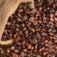 Bag of Coffee Beans on its Side - PhotoDune Item for Sale