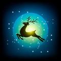 reindeer on the sky - PhotoDune Item for Sale