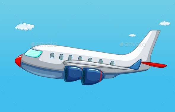 GraphicRiver Airplane 10473134