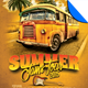 Summer Jams Tour Poster Flyer Template - GraphicRiver Item for Sale