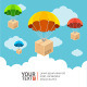 Hot Air Ballons Banner - GraphicRiver Item for Sale