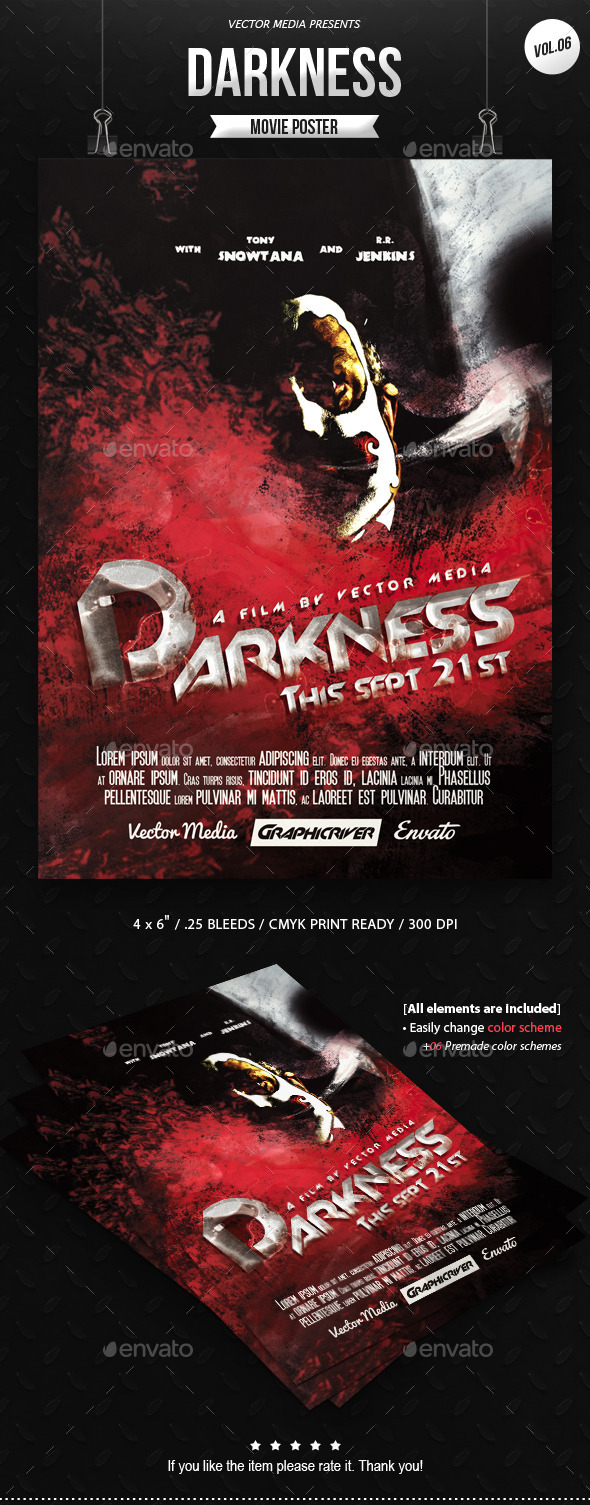 GraphicRiver Horror Movie Poster [Vol.6] 10473497