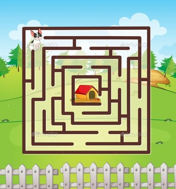 GraphicRiver Maze 10474311
