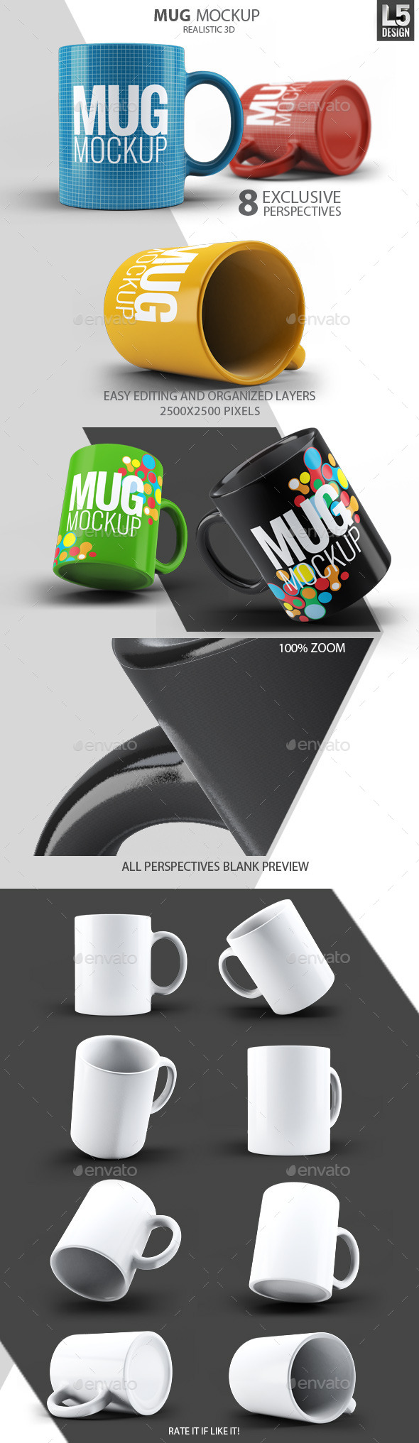 GraphicRiver Mug Mock-Up 10474401