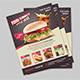 Restaurant & Fast Food Flyer - GraphicRiver Item for Sale