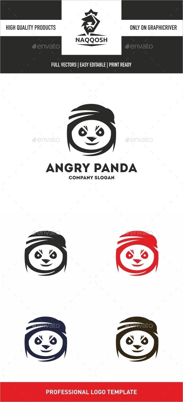 GraphicRiver Angry Panda 10474678