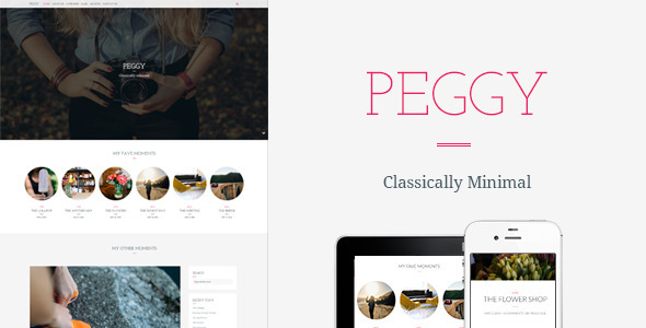 Peggy - A Responsive WordPress Blog Theme