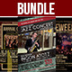 Indie Flyer Bundle Vol.1 - GraphicRiver Item for Sale