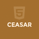 Ceasar - Creative Portfolio Template - ThemeForest Item for Sale