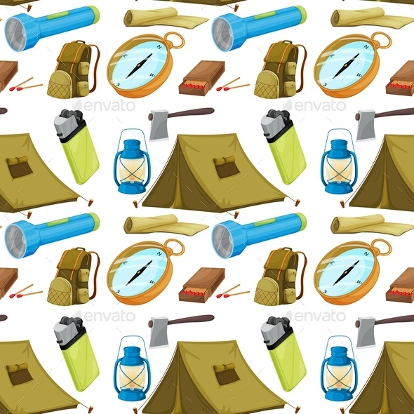 GraphicRiver Various Camping Objects 10475382