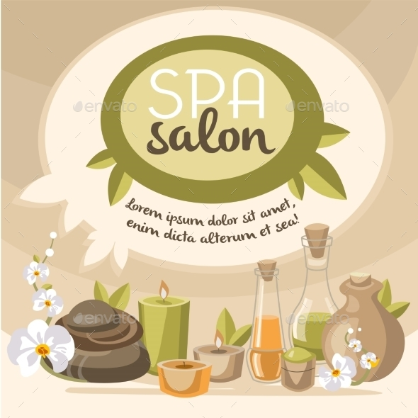 GraphicRiver Spa Vector Illustration 10475571