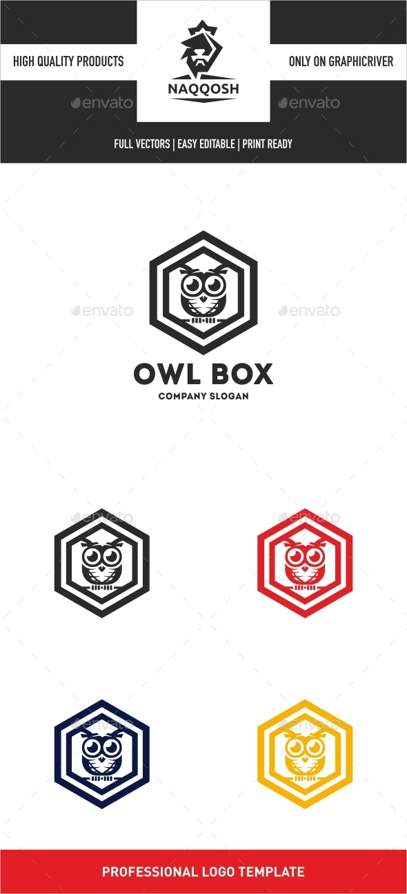 GraphicRiver Owl Box 10475713