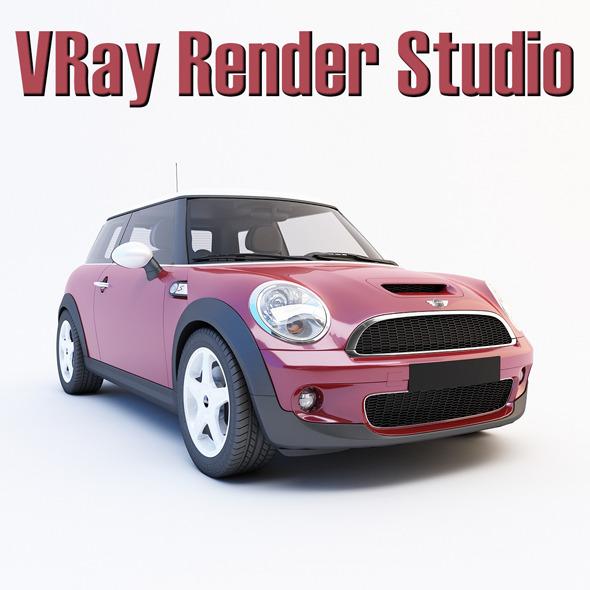 VRay Render Studio (white)