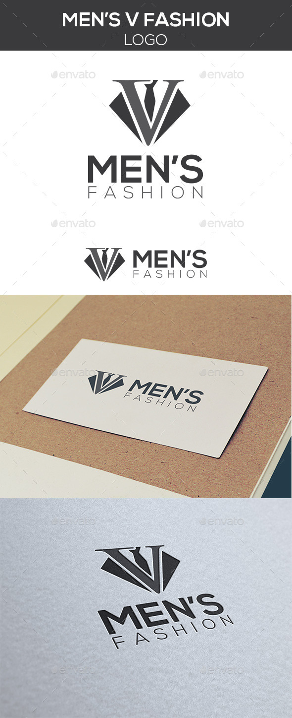 GraphicRiver Men s Fashion Logo 10476178