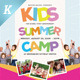 Kids Summer Camp Flyer Templates - GraphicRiver Item for Sale