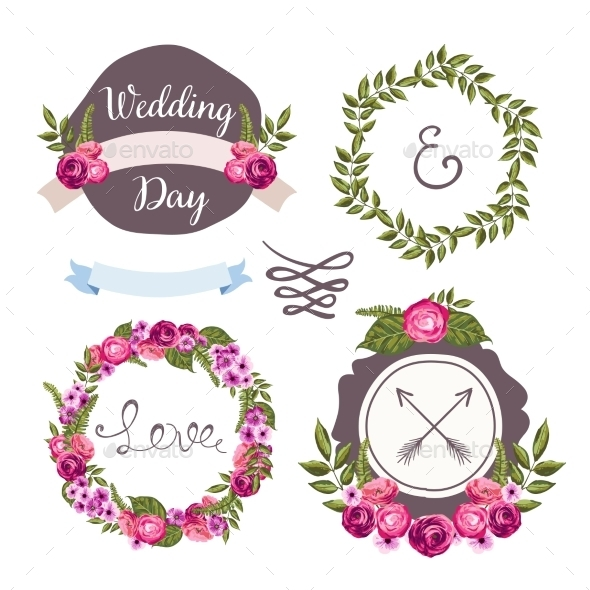 GraphicRiver Wedding Collection Elements 10476549