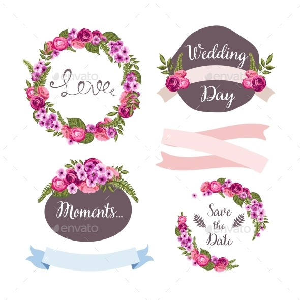 GraphicRiver Wedding Collection Elements 10476567