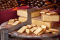 Local cheese selling at a farmers outdoor market - PhotoDune Item for Sale