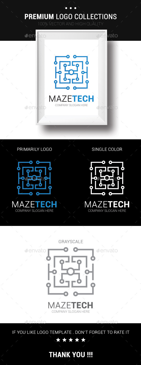 GraphicRiver Maze Tech 10476809
