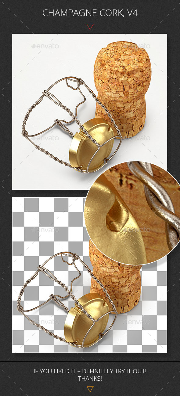 GraphicRiver Champagne Cork V4 10476916