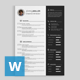 Simple Resume 6 - GraphicRiver Item for Sale