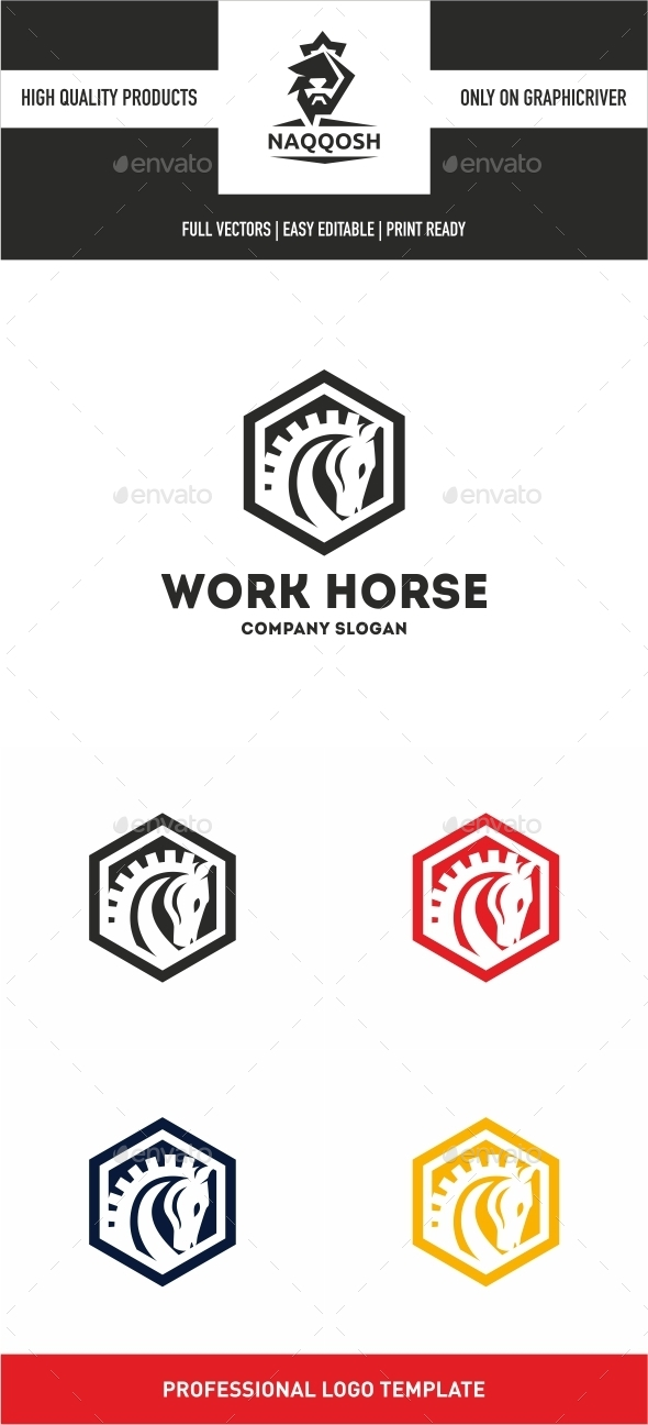 GraphicRiver Work Horse 10477381