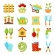 Gardening Symbols  - GraphicRiver Item for Sale