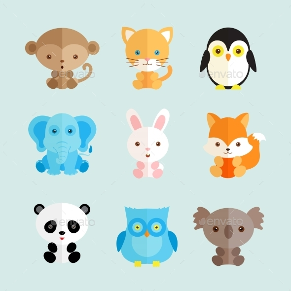 GraphicRiver Animal Icons 10477507