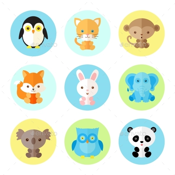 GraphicRiver Animal Icons 10477519