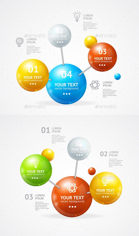 GraphicRiver Vector Infografic Molecule 10477892