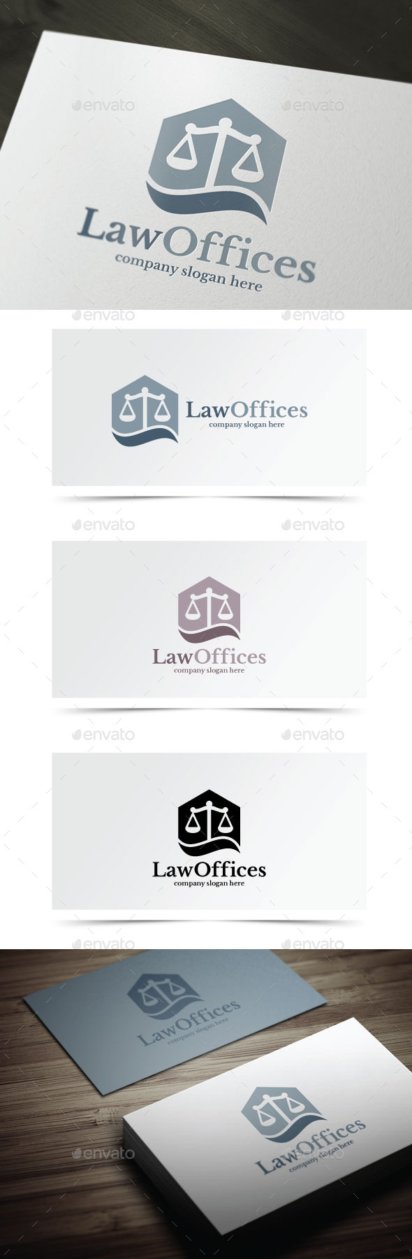 GraphicRiver Law Offices 10478096