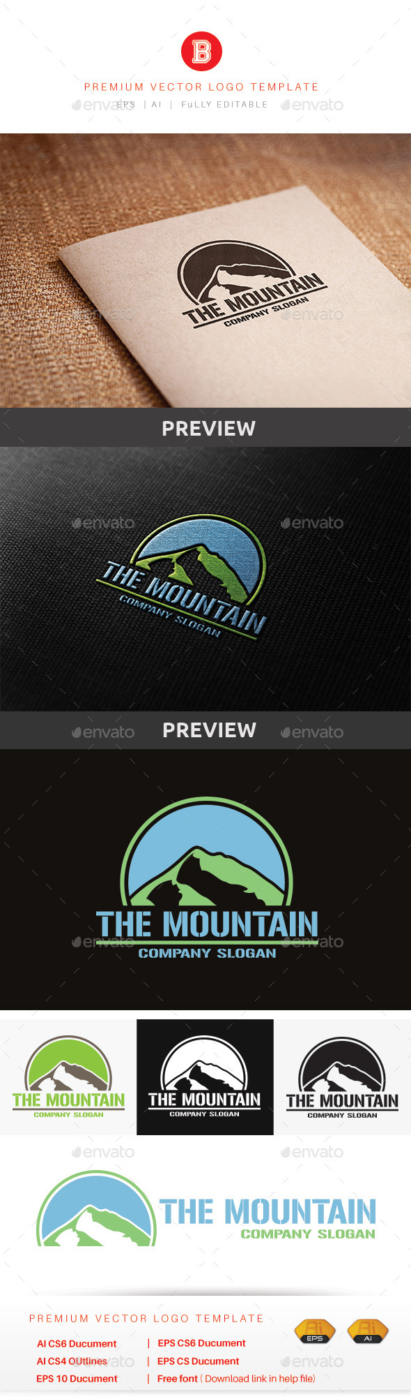 GraphicRiver The Mountain 10478106