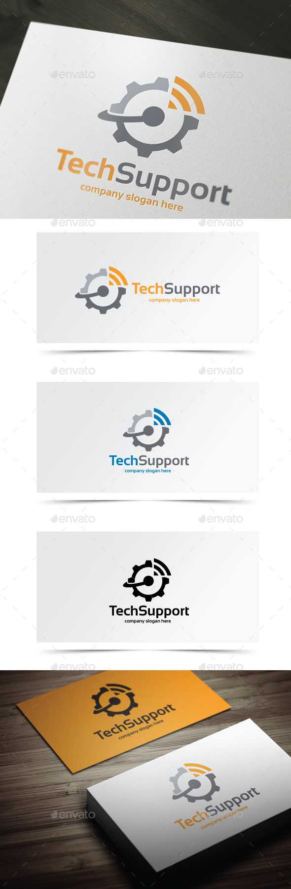 GraphicRiver Tech Support 10478147