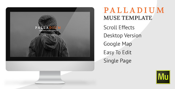 ThemeForest Palladium Muse Template 10435372