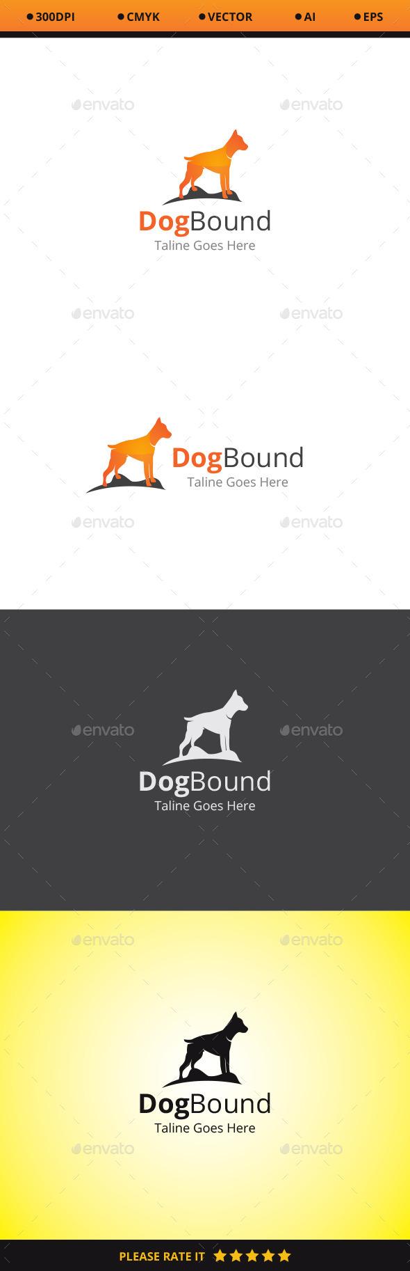 GraphicRiver Dog Bound Logo 10478545