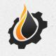 Oil Industri Logo Template - GraphicRiver Item for Sale