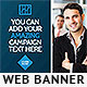 Corporate Web Banner Design Template 58 - GraphicRiver Item for Sale