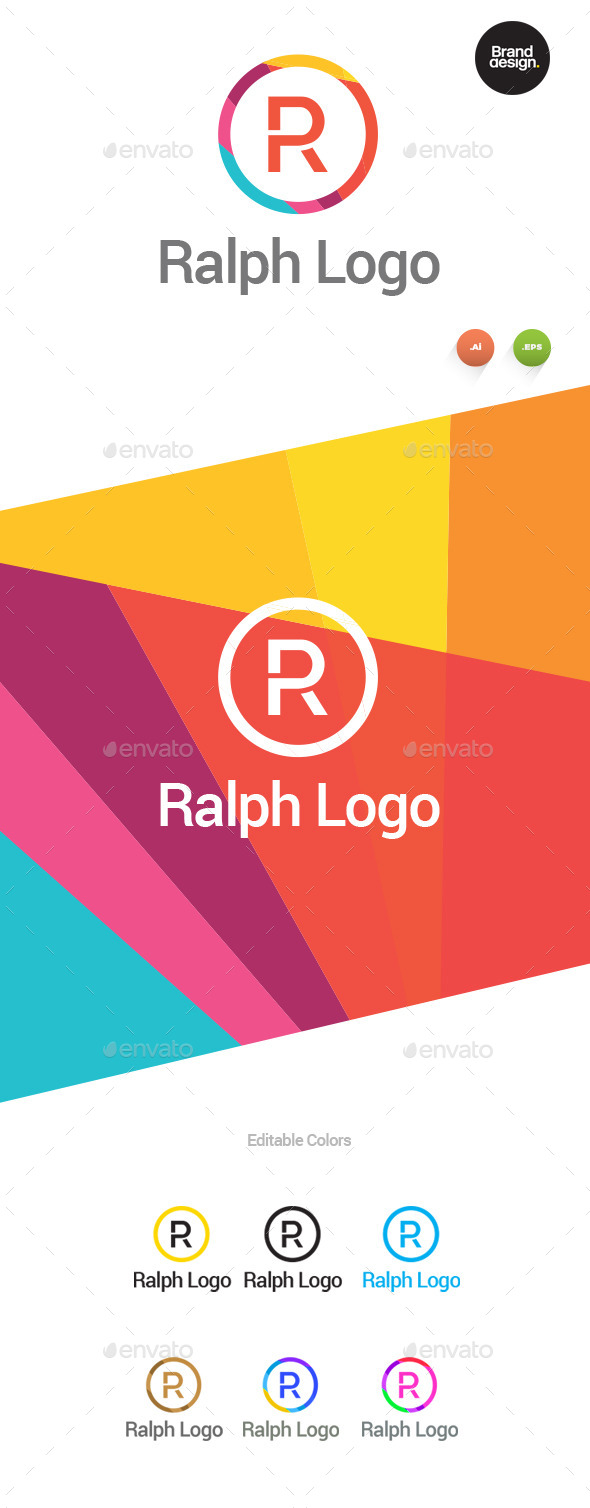 GraphicRiver Ralph Logo 10479074