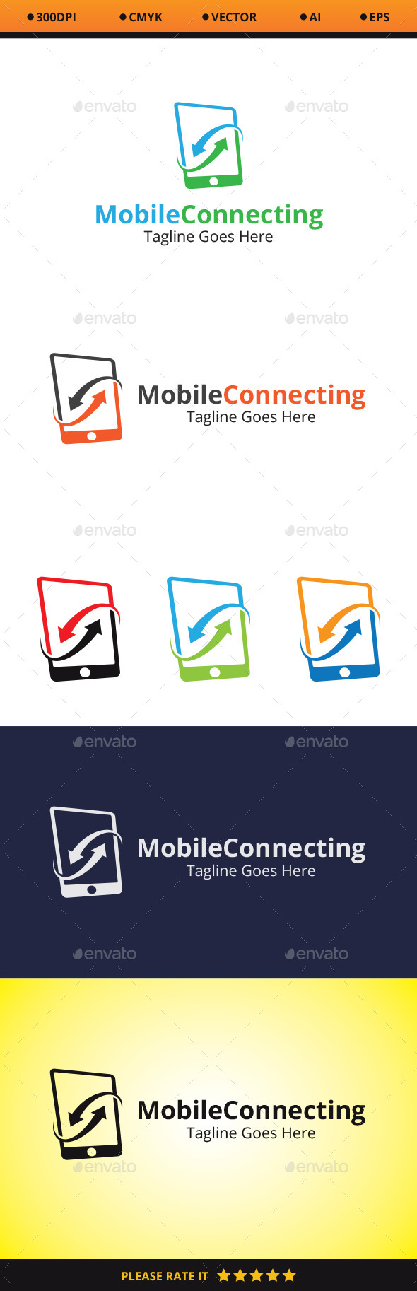 GraphicRiver Mobile Connecting 10479122