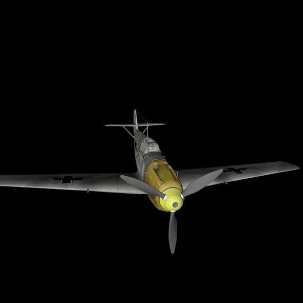 3DOcean Messerschmitt Bf.109 10479129