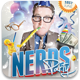 Nerds Party Flyer Template - GraphicRiver Item for Sale