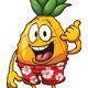 Hawaiian Pineapple - GraphicRiver Item for Sale